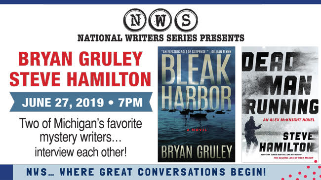 An Evening with Steve Hamilton and Bryan Gruley