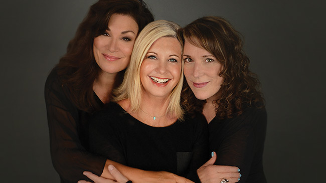 LIV ON: Olivia Newton-John, Beth Nielsen Chapman and Amy Sky