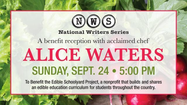 A Benefit Reception with Alice Waters