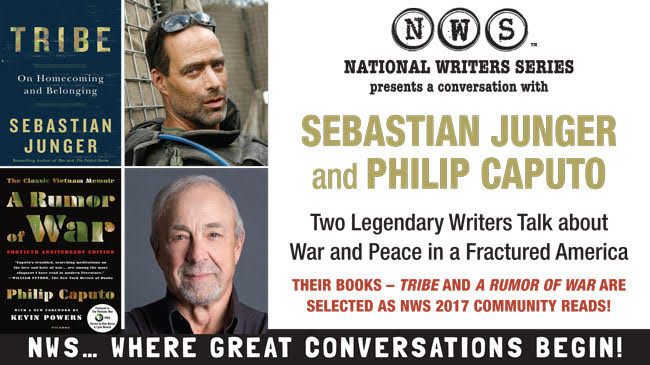 An Evening with Sebastian Junger and Phil Caputo