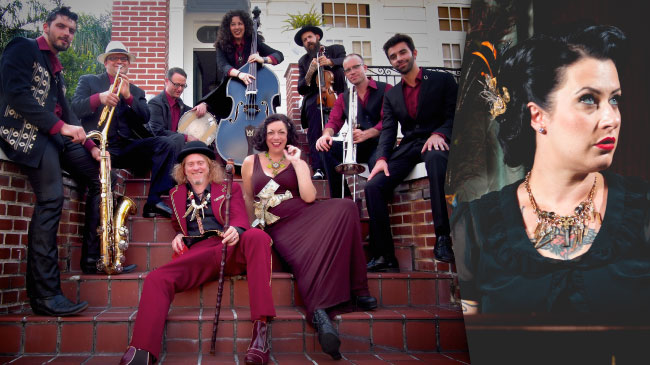 Squirrel Nut Zippers and Davina & The Vagabonds