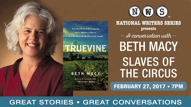 An Evening with Beth Macy